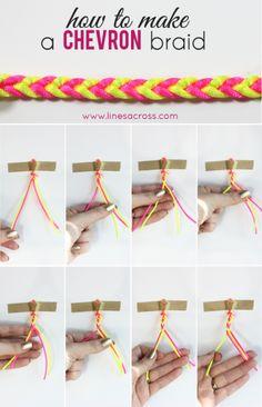 DIY-chevron-braid-bracelet-tutorial-neon-stripes.png (386×600)