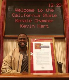 February 22nd is named Kevin Hart Day in California