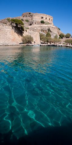 Approaching Spinalonga by macropoulos, via Flickr