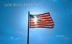 God Bless America HD Wallpaper