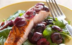 Salmon with Caramelized Cherries | Whole Foods Market