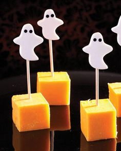 bet you could make these with cheap halloween erasers from Target