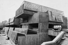 Pimlico School, Pimlico, London. Designed by John Bancroft.