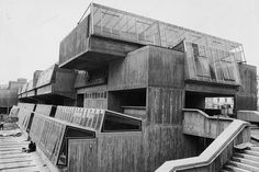 ghosts-in-the-tv:  Pimlico School, Pimlico, London. Designed by John Bancroft.