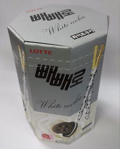 Lotte Pepero White Cookie Choco Biscuit Stick 1 Box (4 Bags) USA Free Shipping #Lotte
