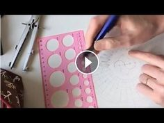 Stralende rechte figuren in je mandala tekenen. Afl 18, 2017 - YouTube Mandala Drawing, Mandala Art, Marjolein Bastin, Doodles, Drawings, Projects, Youtube, Inspiration, Zentangles