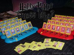 Harry Potter Guess Who! I NEED THIS!!!