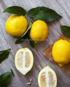 Lemons still life. Food photography ~ Food styling. www.flaviamorlachetti.com