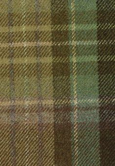 Curtain Fabric Wool Tartan Red Green Check Plaid