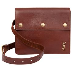 Buy your leather belt YVES SAINT LAURENT on Vestiaire Collective, the luxury consignment store online. Second-hand Leather belt YVES SAINT LAURENT Brown in Leather available. 5543438