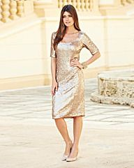 48df9b15 #JOANNAHOPE Sequin #Dress #OxendalesAW15 AW15 #fashion #ootd #ootn Going Out