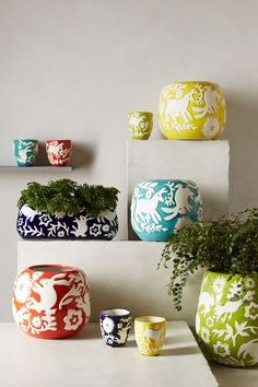 Concha Garden Pot Set #anthrofave