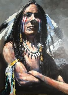 Red Wing-Robert Osterloh, Artist. Native American. I am blessed to own this original, straight from the artist himself.