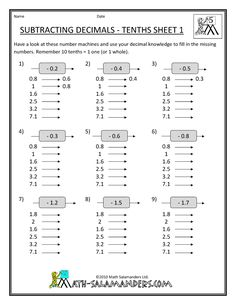 math worksheet : 5th grade math worksheets  get free 5th grade math worksheets  : Subtracting Decimals Worksheet 5th Grade