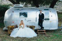The Retro Ranch - Temecula, CA. Rustic wedding. Country wedding. Airstream. Wedding of designer Talia Petersen (weartalia.com)