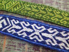 Lautanauhaohje: Birka 21 / new tablet weaving pattern: Birka 21 - Hibernaatiopesäke