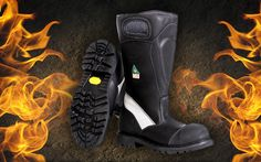Fire-Dex FX-50 Grey Leather Boots