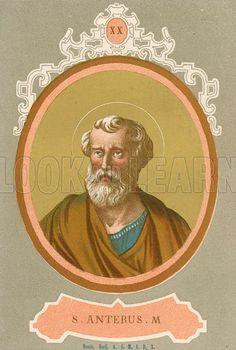 ¿Quién es San Anterus?