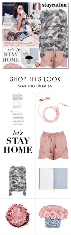 """Rest Up: Staycation"" by elena-777s ❤ liked on Polyvore featuring WALL, Boohoo, Zadig & Voltaire, The French Bee, staycation, 2017 and springsummer2017"