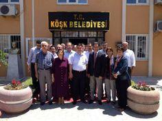 AK Partili Başkanlara 'hayırlı olsun' ziyareti