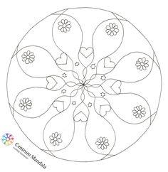Mandala pro lepší den. Další madnaly jsou ke stažení na webu Centra Mandala: http://www.centrum-mandala.cz/mandaly/stazeni-0