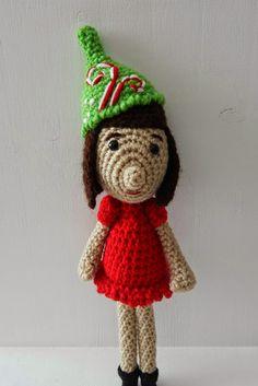 A[mi]dorable Crochet: Christmas Dolly Pattern