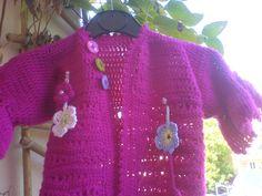 Jacke gehäkelt/ Jacket crochet