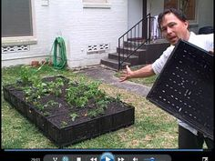 How to Build a FREE Plastic Crate Raised Bed Garden - YouTube