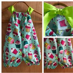 An adorable Bubble Romper to celebrate summer birthdays and parties!   Size 18 months.