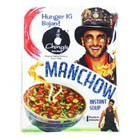 Ching's Secret - Manchow Instant Soup - With Crunchy Noodles. Buy now @ orangecheese.com. Free shipping in India. COD available.