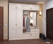 Hooks to hang bags, jackets Bedroom Cupboards, Bedroom Cupboard Designs, Wardrobe Design Bedroom, Home Room Design, Interior Design Living Room, House Design, Hall Interior, Apartment Interior, Hall Furniture