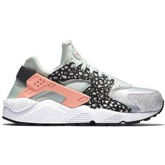 buy online b2fa5 9eaf7 nike womens air huarache run PRM trainers 683818 sneakers shoes (US pure  platinum aluminium fibreglass
