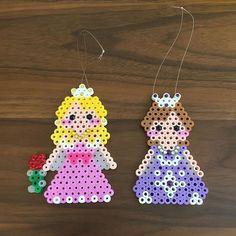 Aurora and Sophia - Disney Princess perler beads by  bambi1231