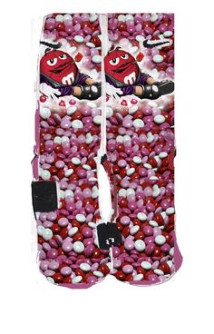 valentine nike elite socks