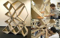 Softshelf shelving system by Softrigid 02 Softshelf shelving system by Softrigid