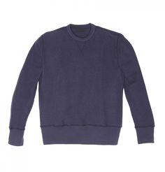 Blue Reversible Sweater