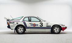 1981 Porsche 924 Historic Rally Car