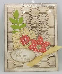 Secret garden ; Hexagon embossing folder ; Extra large oval punch ; Vintage verses ; French script