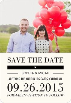 Ticket to Wed Save the Date