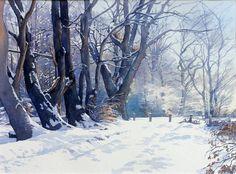 Snow on Northchurch Common. Brian Robinson.