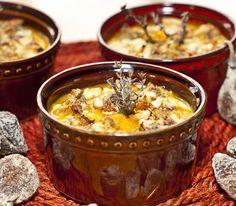 Découvrez cette recette savoureuse et légère de gratin : une courge de Provence parfumée au thym et au laurier, et gratinée au fromage de chèvre !