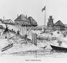 Fort Chipewyan is one of the oldest European settlements in the Province of Alberta. It was established as a trading post by Peter Pond of the North West Company in 1788. The fort was named after the Chipewyan people living in the area.