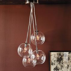 Cluster Glass Pendant- West Elm