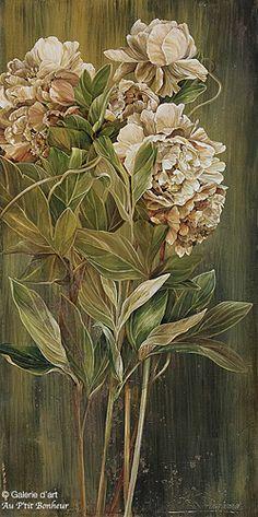 Linda Thompson, 'Fresh Approach', 18'' x 36'' | Galerie d'art - Au P'tit Bonheur - Art Gallery