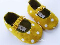 sewn baby shoe pattern