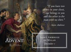 Animal Spirit Guides, Spirit Animal, Advent Prayers, St Ambrose, Advent Season, The Man, Catholic, Father, Bible