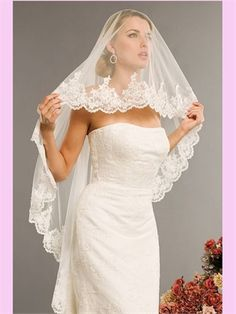 Wedding Veil AVE003