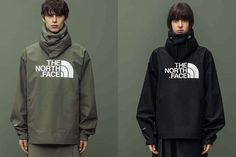 HYKE x The North Face Defines Comfort Through Techwear: Cold weather essentials, reimagined. Fuzzy Coat, New Print, Sport Fashion, Hypebeast, The North Face, Rain Jacket, Windbreaker, Street Wear, Fall Winter