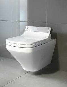 duravit durastyle wall mounted toilet bowl with sensowash seat u0026 cover