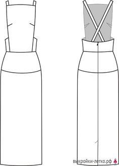 Fashion Flats, Diy Fashion, Fashion Outfits, Fashion Design Portfolio, Apron Dress, Pinafore Dress, Fashion Sketches, Dress Sketches, Drawing Fashion